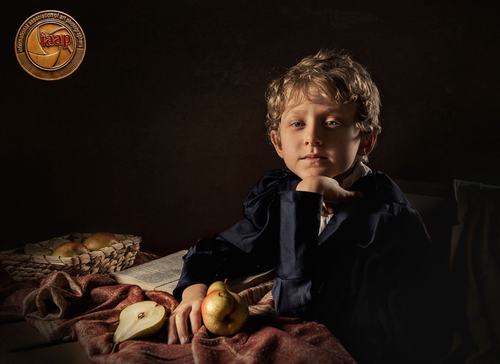 Apricot Photo 2016, Armenia  – Boy with pears IAAP Gold Medal