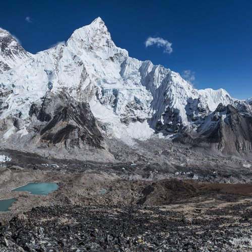 Mount Everest, Nuptse, Khumbu Icefall, Nepal