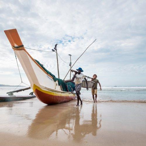 Fishermen, Sri Lanka