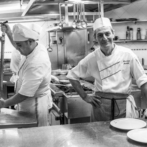 Riccardo - chief in pizzeria, Venice, Italy