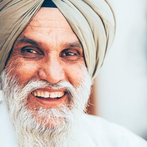Smiling sikh