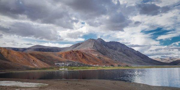 Karzok village, Ladakh, India